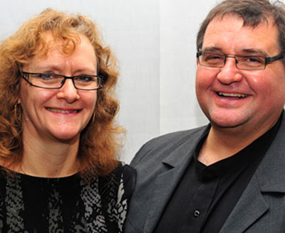 Rev David and Alison Holmes